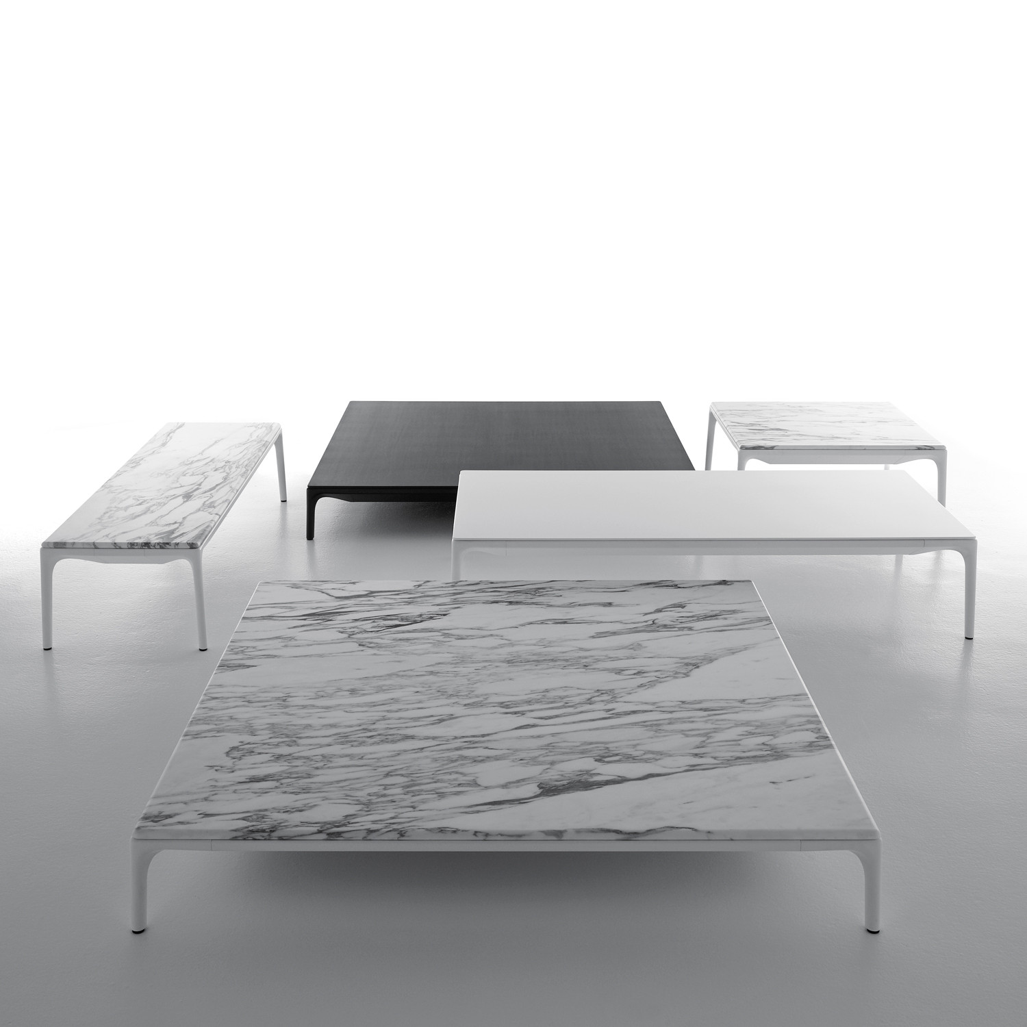 Yale Low Coffee Tables by MDF Italia