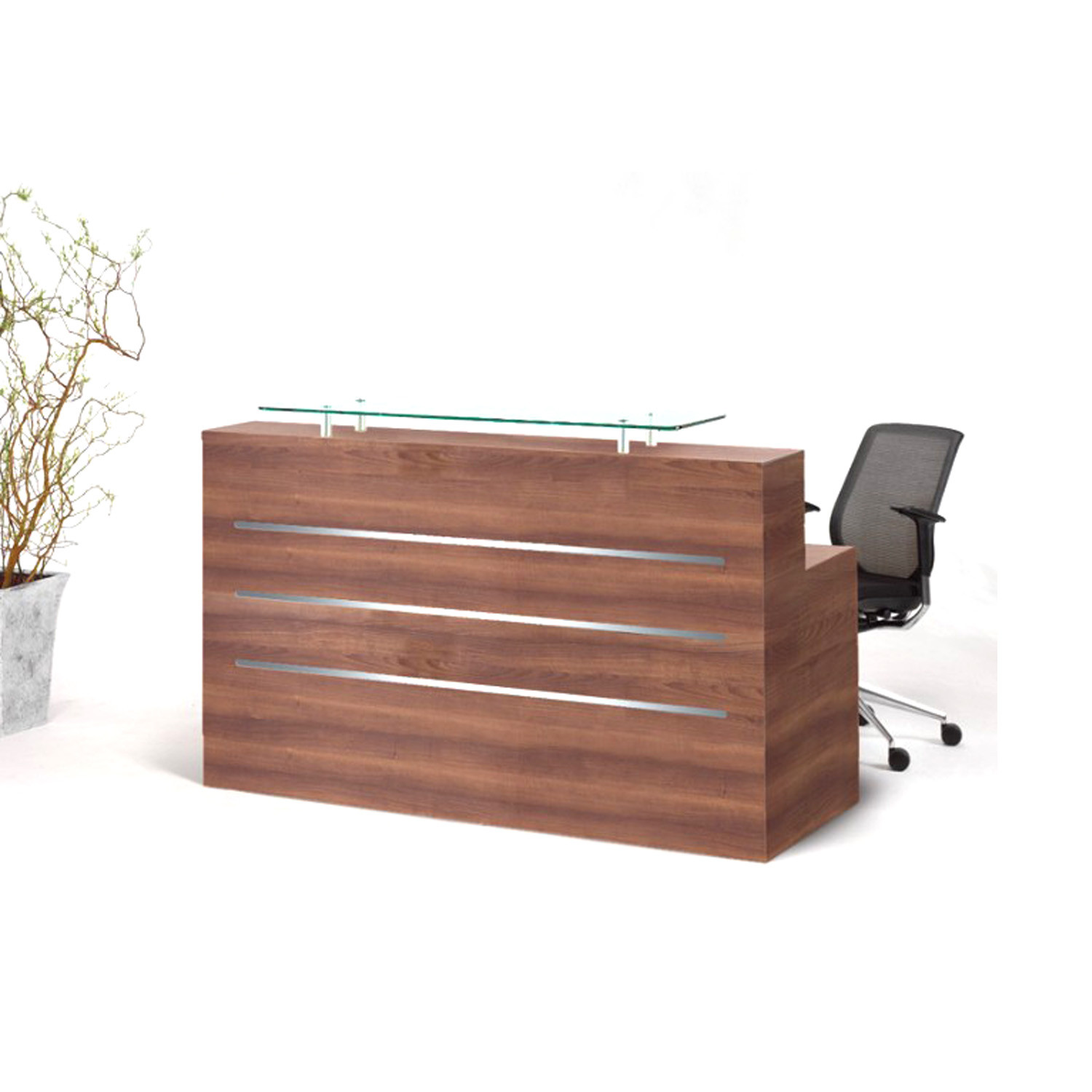 Evolution Eclypse Reception Desks from Clark Rendall