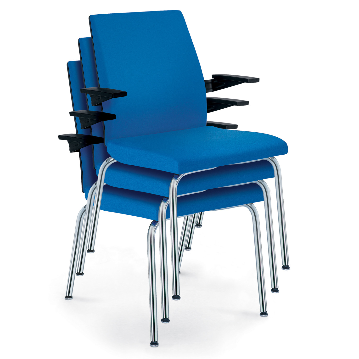 Yeah! Stackable Meeting Chairs by Sedus