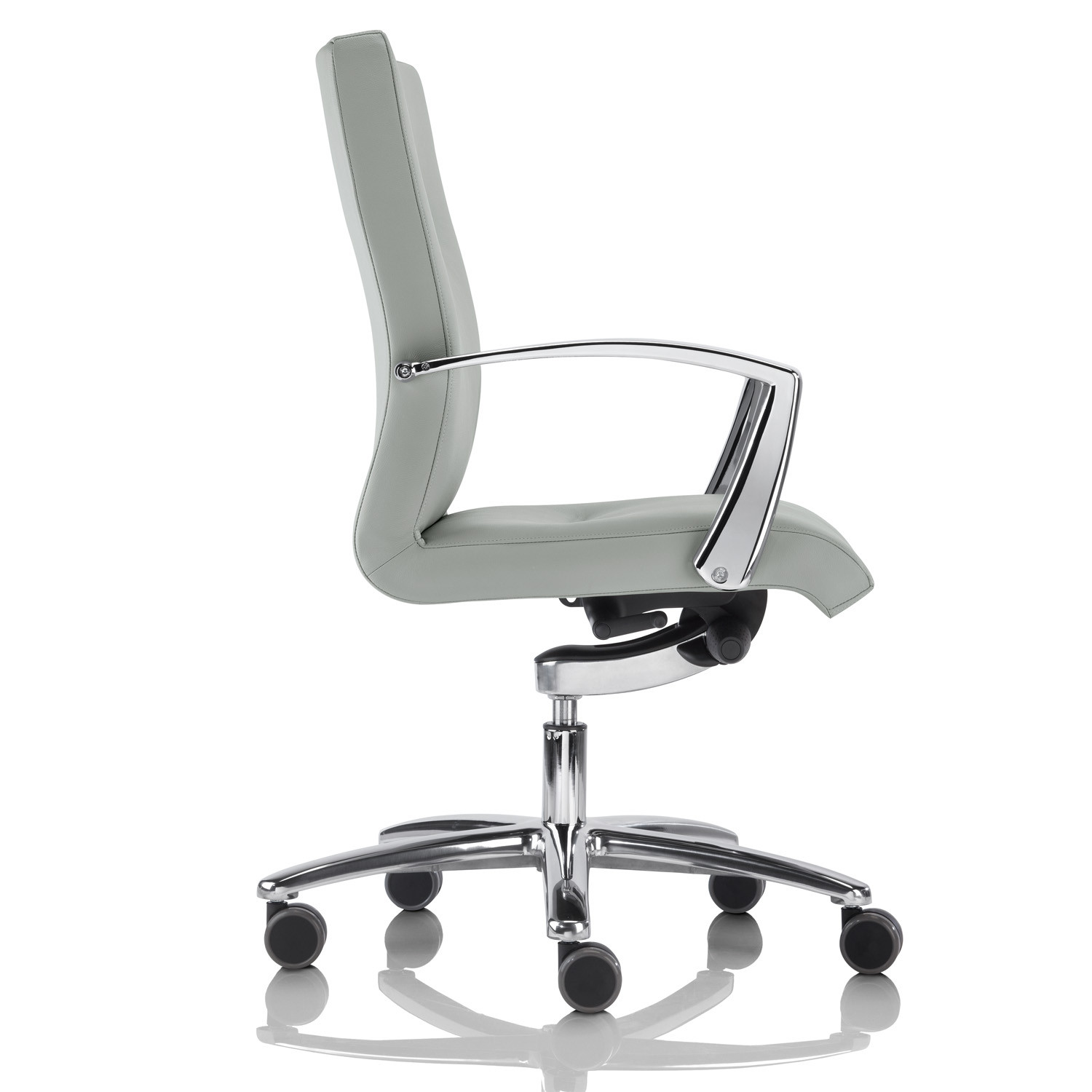 Youster Boardroom Armchair on glides