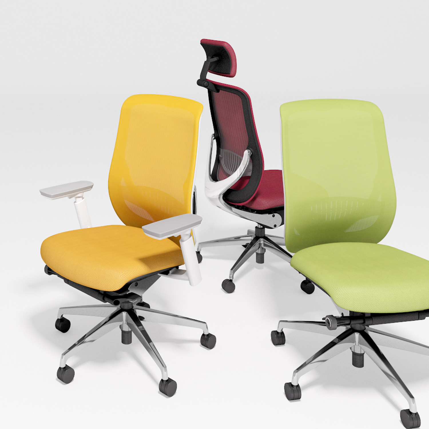 Okamura Zephyr Light Office Seating