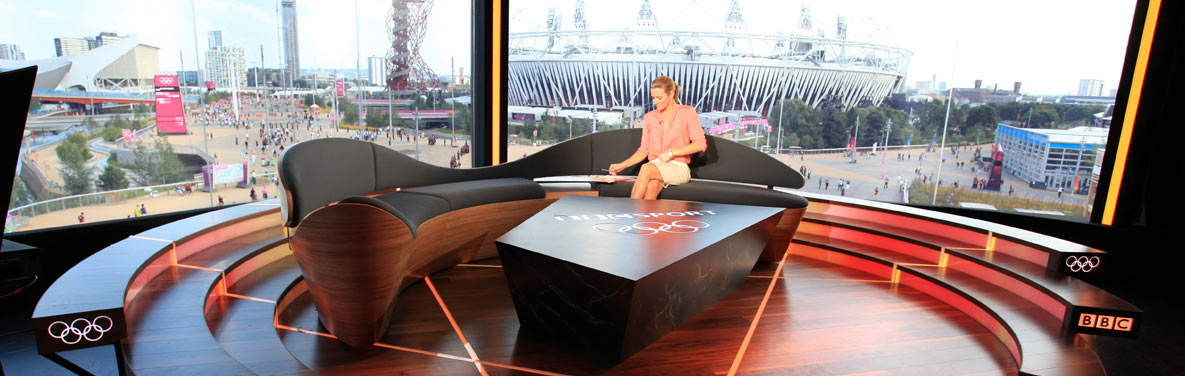 BBC Olympic Sofa