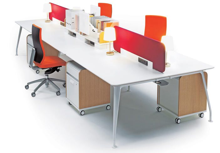 Modern Office Bench Desks