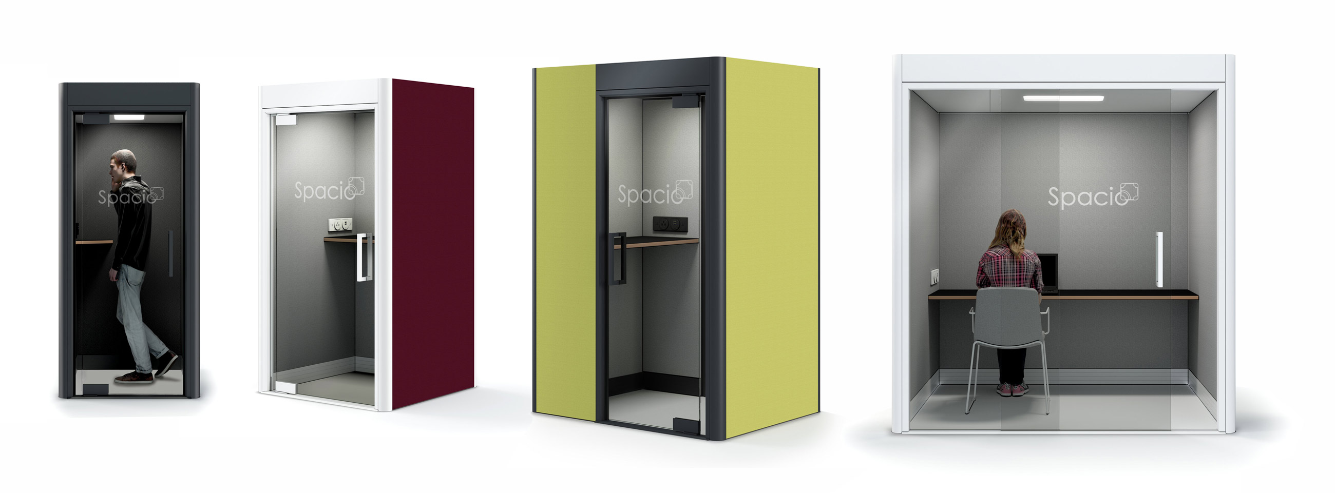 Spacio Booths & Pods
