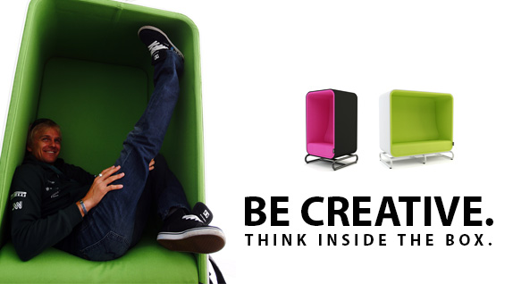 Be Creative - think inside the box