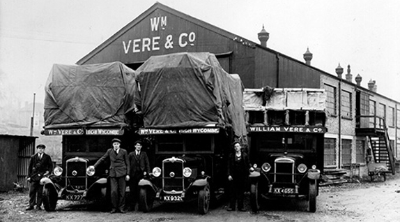 William Vere & Sons founded by Derek Vere