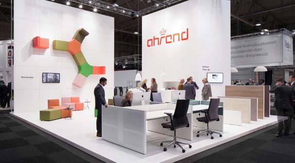 Ahrend collection at design fair