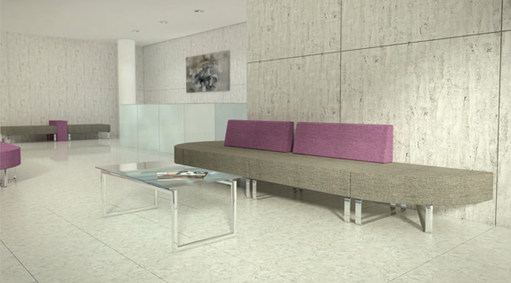 Intro Modular Soft Seating by Edge Design