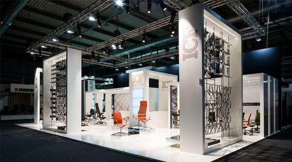ICF stand in design fair