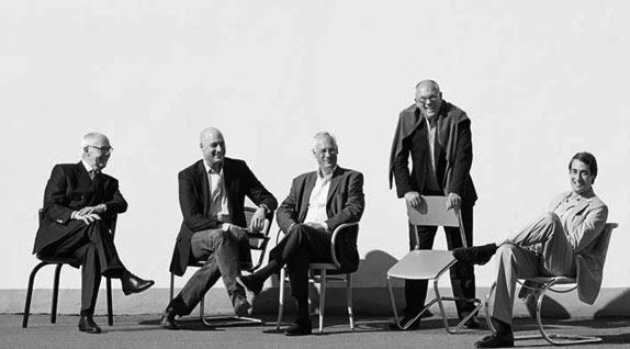 Claus, Felix, Peter, Philipp & Percy Thonet