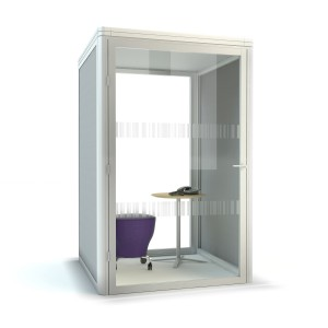 Need Privacy In Your Open Plan Office Phone Booths Are