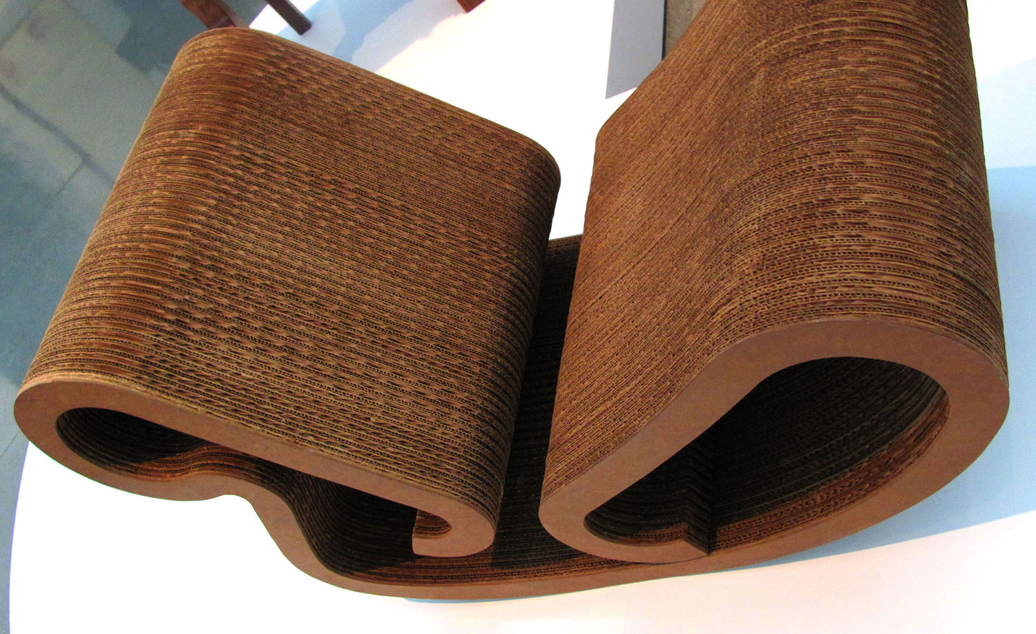 Cardboard rocking chair - Frank O Geary Easy Edges Rocking Chair 1972 Corrugated Cardboard And Masonite