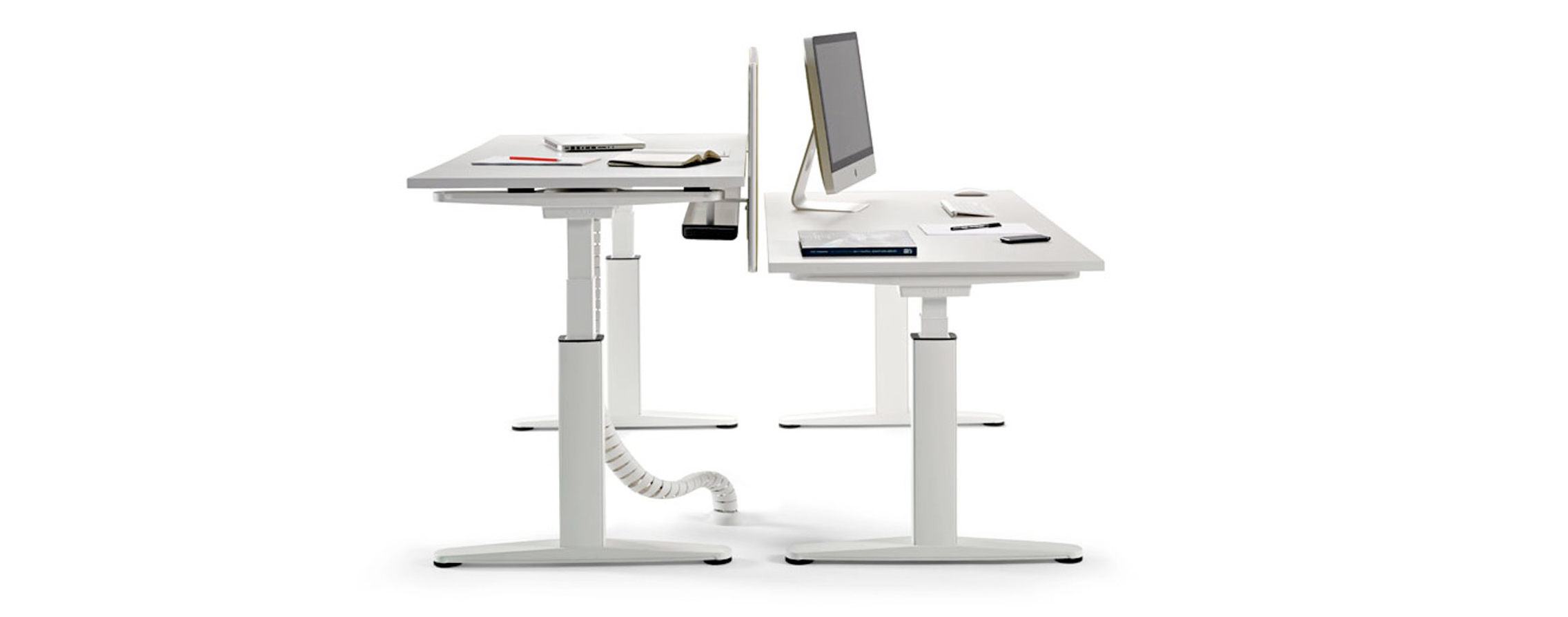 We'll give you a leg up with these height adjustable desks   Apres ... - We'll give you a leg up with these height adjustable desks   Apres  Furniture News