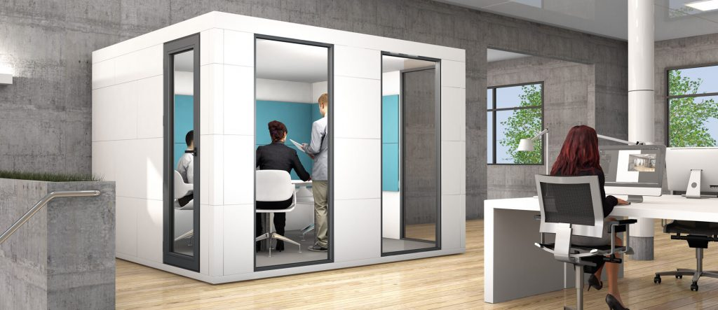 Rooms: Office Bricks Meeting Pods : A Brand New Acoustic Room