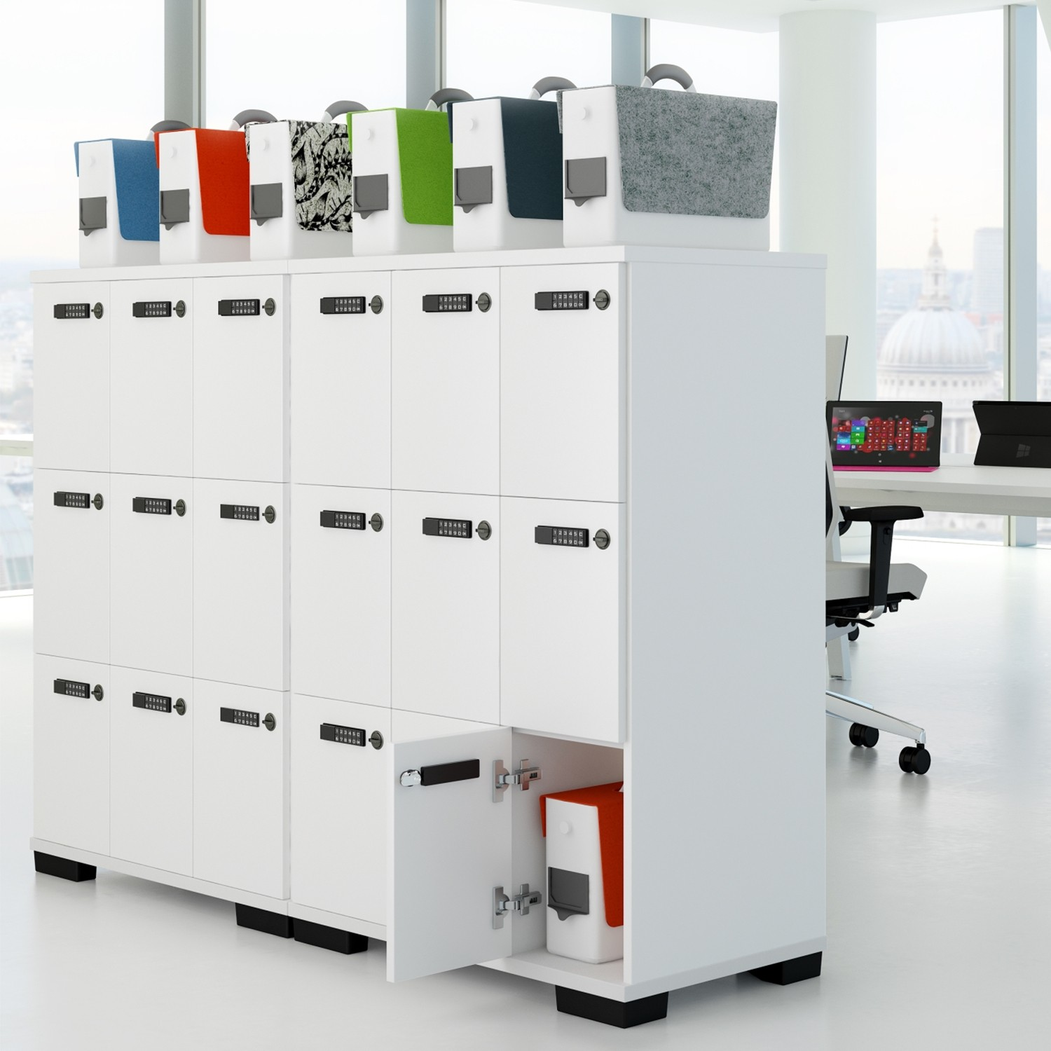 Personal Storage In The Shape Of Elite Lockers And The